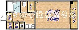 コンチネンタル太子橋[701号室]の間取り