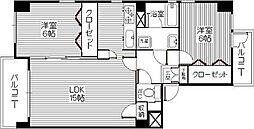 パレスITOI(イトイ)[2階]の間取り