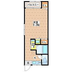 オーナーズマンション南巽[204号室]の間取り