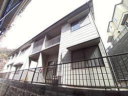 兵庫県神戸市東灘区鴨子ケ原3丁目の賃貸アパートの外観