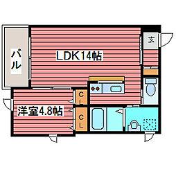 福の住家[2階]の間取り