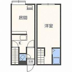 AMS913[1階]の間取り