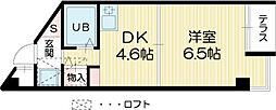 加古川ヤングパレス[1階]の間取り