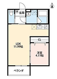 square(スクウェア)[1階]の間取り