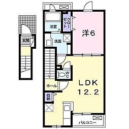 サンシャインT.O[2階]の間取り