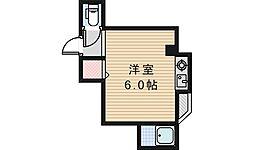 三明ハイツ[102号室]の間取り