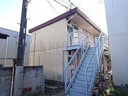 埼玉県川越市六軒町2丁目の賃貸アパートの外観