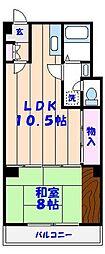 青山ビル[3階]の間取り