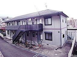 コーポ田中II[1階]の外観