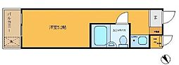 日興パレス成城学園[3号室]の間取り