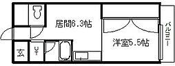 北海道札幌市南区澄川四条1丁目の賃貸アパートの間取り