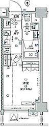 ジェノヴィア板橋ウエストグリーンヴェール[603号室]の間取り
