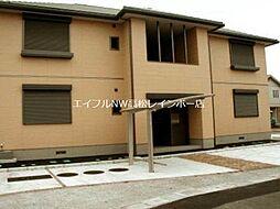 ハイツMINORU B棟[1階]の外観