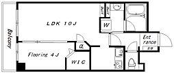 モナージュ中野平和の森公園(1603)[503号室]の間取り