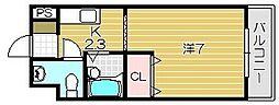 ボア・ヴィラージュ[305号室]の間取り