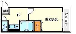 フレックス新大阪2[3階]の間取り