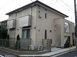 東京都中野区本町1丁目の賃貸アパートの外観