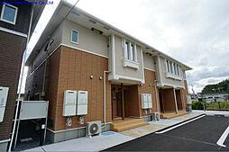 福岡県中間市岩瀬4丁目の賃貸アパートの外観
