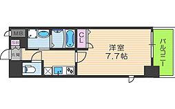 アーバンパーク梅田イースト[4階]の間取り
