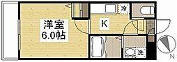 ウェーブレジデンス原尾島[1階]の間取り
