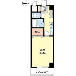 新潟県新潟市中央区山二ツ3丁目の賃貸マンションの間取り