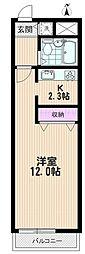 TOTETSU URAWA[303号室]の間取り