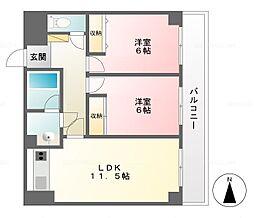 SDビル[9階]の間取り