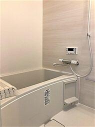 清潔感が感じられる浴室