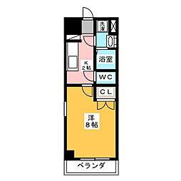 サニー大曽根[11階]の間取り