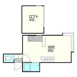 Urban Atsubetsu[2階]の間取り