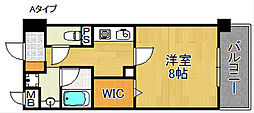 スカイビュー宝泉[4階]の間取り