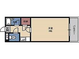モリビル京橋[8階]の間取り
