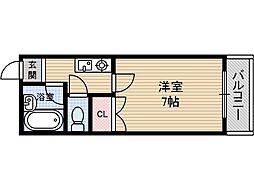 宮元12番館[4階]の間取り