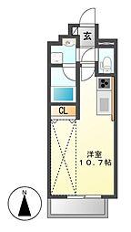 ポルタニグラ大須[1階]の間取り
