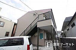 愛知県豊田市下市場町7丁目の賃貸アパートの外観