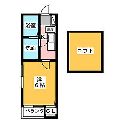 モア・グレース[2階]の間取り