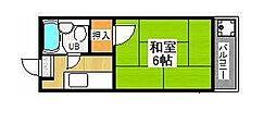 コーポ近藤[4階]の間取り