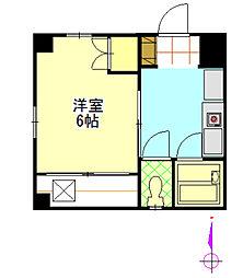 ガーデンハウス[2F号室]の間取り