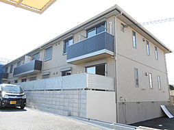 大阪府河内長野市古野町の賃貸アパートの外観