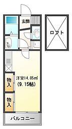 フォレステージュ江坂垂水町[12階]の間取り