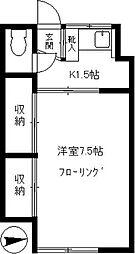 寺井荘[10号室]の間取り