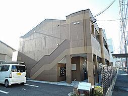 福岡県北九州市小倉北区若富士町の賃貸アパートの外観