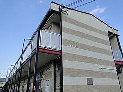 滋賀県大津市唐崎4丁目の賃貸アパートの外観