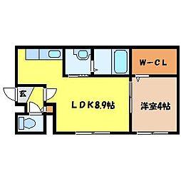 北海道札幌市中央区南十二条西9丁目の賃貸マンションの間取り