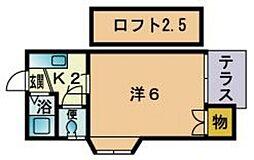 福大前駅 2.1万円