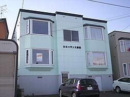ルネッサンス野幌[2階]の外観