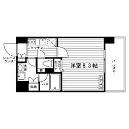 ステーションスクウェア[4階]の間取り