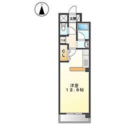 YS Aguri[2階]の間取り