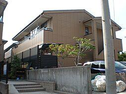 愛知県日進市岩崎台1丁目の賃貸アパートの外観