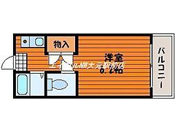 第Iストークマンション[2階]の間取り